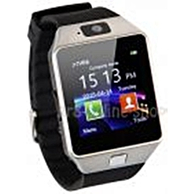 "DZ09 Smart Watch With Mobile-SD Card, Bluetooth, Camera, Anti Lose, 1.46"" - Silver"