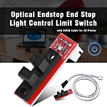 Optical Endstop for 3D Printer Optical Endstop End Stop Light Control Limit Switch with 50CM Cable for 3D Printer