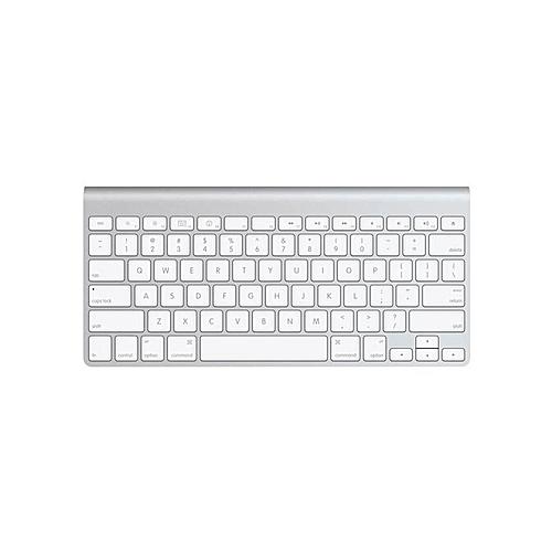 ab738bf0506 Generic MC184LL/B - Apple Wireless Keyboard - Silver & White @ Best ...
