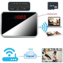 8GB 1920x1080P 1280x720P HD WIFI Hidden Camera Clock 7/24 Hours Working With Outlet Power Supply JY-M
