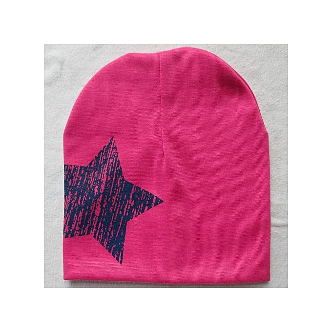 6a46b30984e Braveayong Print Star Baby Beanie For Boys Girls Cotton Knit Hat Children  Winter Hats Hot -