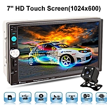 7inch 2Din Car Touch Screen MP5 Stereo Player Bluetooth With Backup +Rear Camera