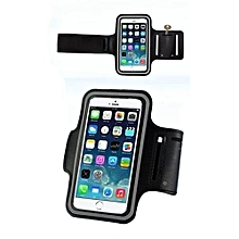 Bluelans Sports Adjustable Armband Gym Equipment Case Cover For 6 Plus Black