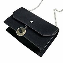 bluerdream-Women Messenger Bags Shoulder Bags Handbag Small Body Bags- Black