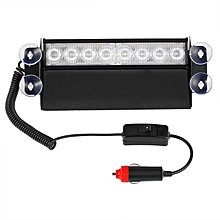 8 LED Red/Blue Car Police Strobe Flash Light Dash Emergency Flashing Lamp Red and Blue