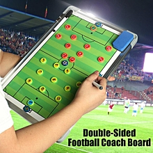 Precision Magnetic Pro Double-Sided Football Training Strategy Board 45x29.3cm-