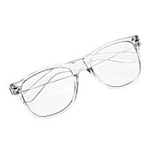 Fashion Eyeglass Frame Vintage Transparent Glasses Retro UV 400 Plain Lens Optic
