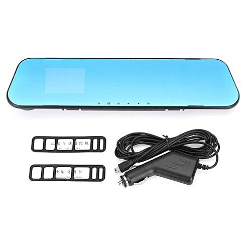 Generic New HD 1080P 2.8″ Lens Car DVR Rear View Mirror Dash Cam Video Camera Recorder