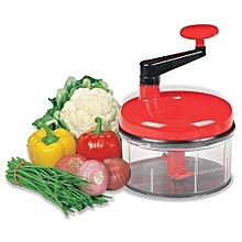 Chop N Churn Slicer Chopper Kitchen Tool Machine