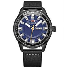Fashion  Leather Men Watches Quartz 3ATM Water-resistant Luminous Casual Man Wristwatch Rologio Masculino