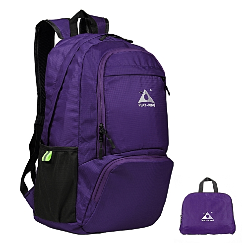 c8abe6189ff3 Lightweight Foldable Backpack Water-resistant Folding Bag Outdoor Pack for  Women Men Travel Camping Hiking
