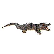 Henoesty New Exotic Simulation Small Crocodile Model Vocal Crocodile Tricky Vent Toys