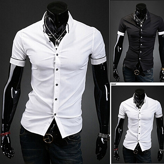 Generic Wear Business Men's 2018 Shirt Stylish New Causal Vogue Ib7gfY6yv
