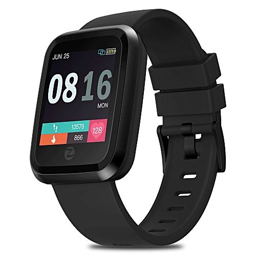 Zeblaze Crystal 2 HR Monitor All day Activity Tracking 3D Dynamic UI 1.29 inch Screen Smart Watch