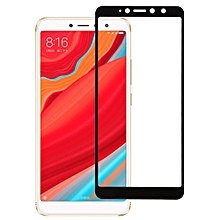 0.26mm 9H 2.5D Anti-scratch Silk-screen Tempered Glass Full Screen Film for Xiaomi Redmi S2 (Black)