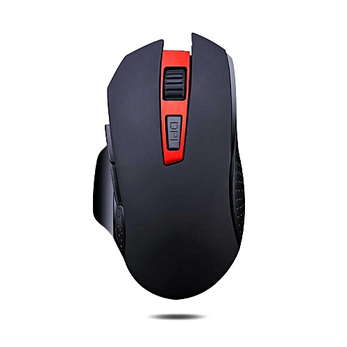 b25080c711f Generic Wireless Gaming Mouse Mute Button Silent Click 2400DPI Optical Mini  Noiseless Mice for Laptop PC BDZ