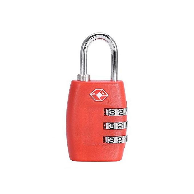 SHANYU 4 Colors Fashion Travel Luggage Suitcase Bag Digit Combination  Password Code Lock Padlock