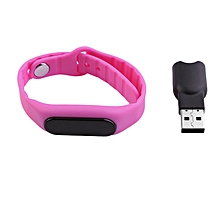 Waterproof IP67 OLED Screen Smart Bracelet Bluetooth Sleep Monitoring Bracelet purple
