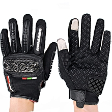 Motorcycle Touch Screen Gloves Racing Full Finger Anti-skidding For MAD-BIKE Mad-06