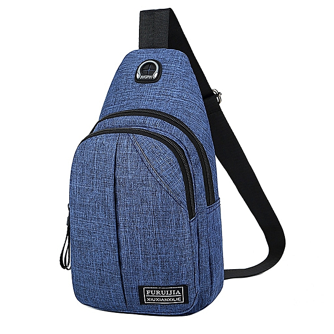 d7b0784f6 Aelicy Men crossbody Bag Oxford Badge Boys Chest Bag travel belt Waist Bag  for men Bolsos