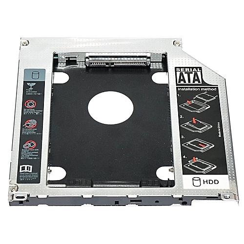 HP 2 5 9 5mm SATA 2nd HDD SSD Hard Drive Caddy Adapter For CD ROM Optical  Bay