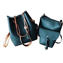 Women Four Sets Fashion Handbag Shoulder Bags Four Pieces Tote Bag Crossbody GN
