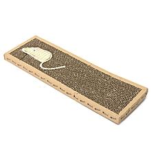 Cat Kitten Scratch Board Pad Corrugated Scratcher Soft Bed Mat Claws Care Toys