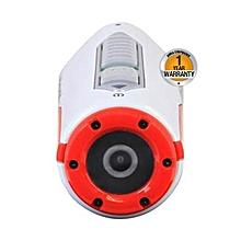 XS80 - HD 1080p  - 16MP - Waterproof Sports Action Camera - White