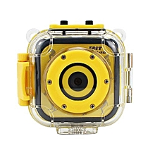 Kids Waterproof Digital Video HD Action Camera 720P Sports 1.77inch LCD Screen Camera Camcorder DV For Boys Girls Birthday Gift Learn Camera Toy