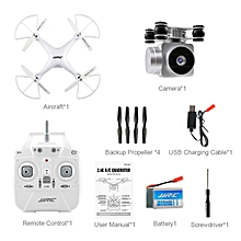 OR JJRC H68 Quadcopter Real-time Transmit 200W Camera Altitude Hold Wifi RC Drone-white