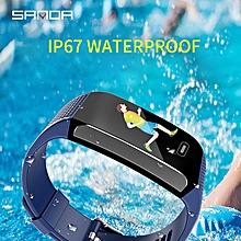 Bluetooth Smart Watch Sports Health Monitor Smart Reminder