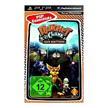 PSP Game - Ratchet and Clank Size Matters
