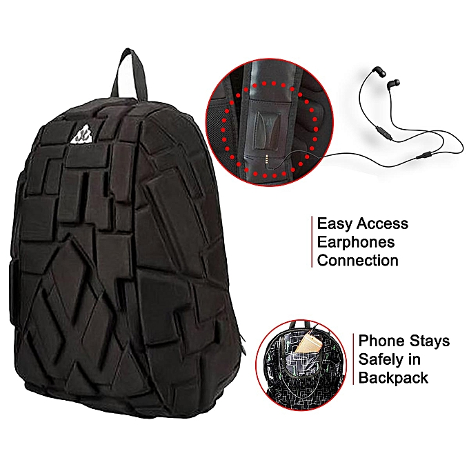 new product 4be1d 57a97 Laptop Bag / Waterproof Turtle Eva Urban Travel Anti-Theft Laptop Backpack  Bag With Headphone Jack