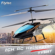 TY909T 2CH RC Helicopter with Gyroscope for Kids Toys Children Gift