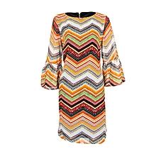 Multicoloured Zigzag Formal Dress