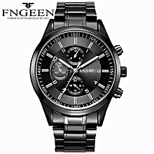 High-grade Sport Quartz Wristwatches Luxury Stainless Steel Waterproof Military Watches For Unisex