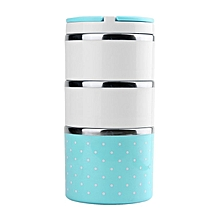 1230ML Three-Layer Stainless Steel Lunch Box Multilayer Insulation With Handle