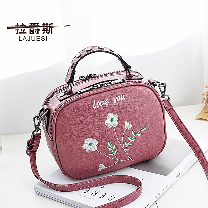 0ab1932b10e Rubber powderThe brand women's bag buys a to send 7 bag women's bag 2018 new  style