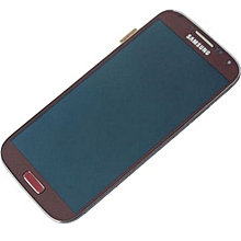 Lcd Screen With Frame Touch Screen Lcd Display Complete Screen Assembly Replacement Parts Red For Samsung Galaxy I545