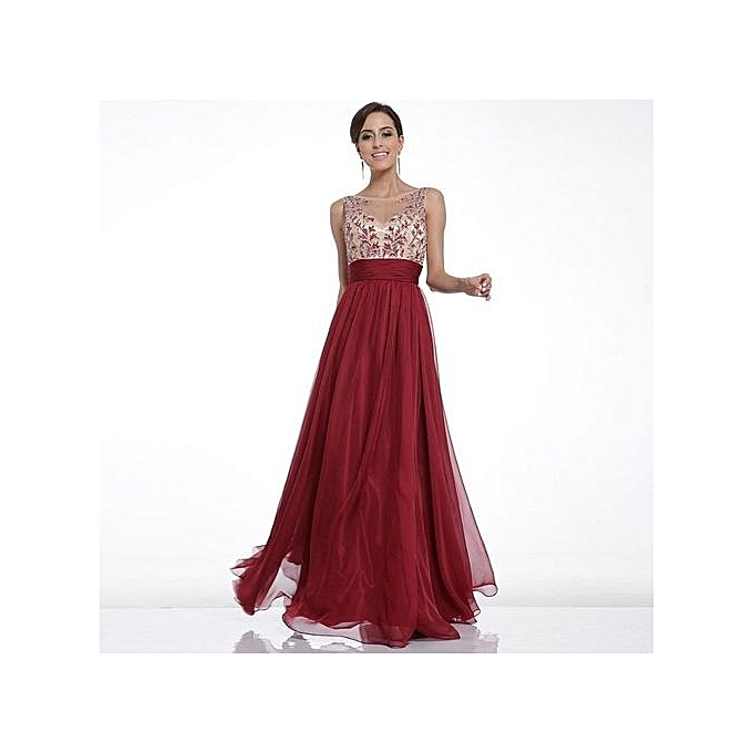 ef96929392 Women Organza Mesh Maxi Dress New Ladys Patchwork Backless Sexy Evening  Party Prom Long Dresses (Color:c0)