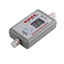 Mini Portable Digital Satellite Signal Finder LCD DVB-T TV Receiver Gray