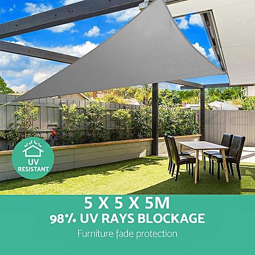 Generic Waterproof Sun Shade Sail Cloth Shadecloth Outdoor Canopy