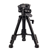 SAB103 Camera Tripod Flexible With Ball Head Quick Release Plate  black