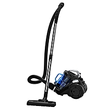 VC 1409 Bagless Canister Vacuum Cleaner Upright Lightweight Corded 15Kpa Suction Vacuum HEPA Filter for Pet Fur Hard Floor Carpet