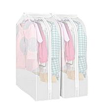 Dustproof Clothes Cover Wardrobe Dress Shirts Storage Bags -Transparent