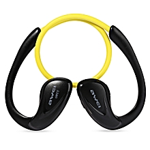 Awei A880BL Wireless Sports Stereo Earphones-YELLOW