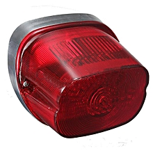 LED Tail Light Turn Signal Brake Lamps for Harley Softail Sportster Dyna Glide (Red)