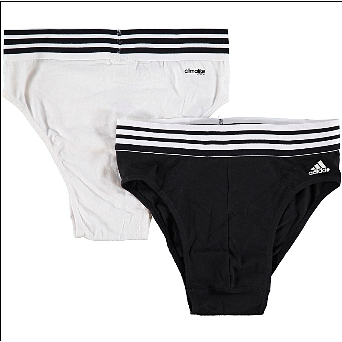Climalite Briefs 2- Pack in White and Black