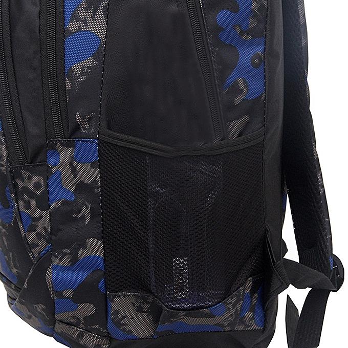 ... jiuhap store Backpack Teenage Girls Boys School Backpack Camouflage  Printing Students Bags-Black b2b48562da40b