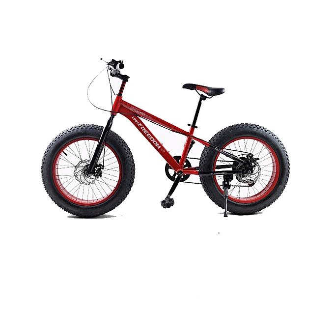 """Exercise Bike Jumia Kenya: Love Freedom 16"""" Red Fat Tire Bike @ Best Price"""